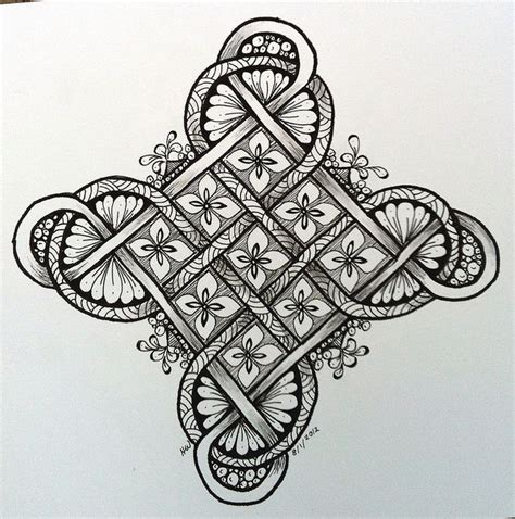 zentangle knot pattern 146 best images about drawing ribbons ropes knots