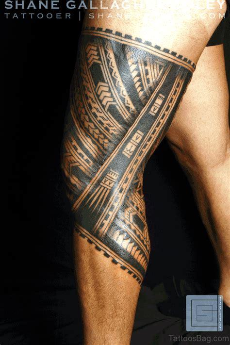 tribal leg band tattoos 53 cool band tattoos on leg