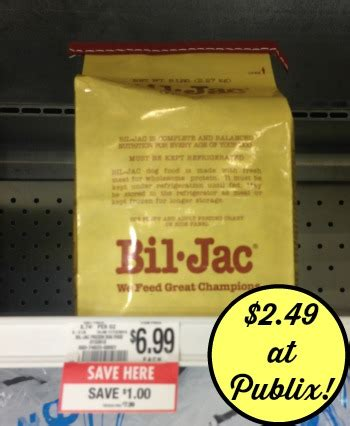 bil jac dog food printable coupons awesome deal on bil jac at publix grab your coupon