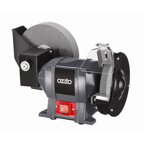 wet bench grinder ozito 250w wet dry bench grinder i n 6290093 bunnings