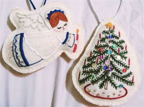 christmas ornaments by liz ruff project sewing