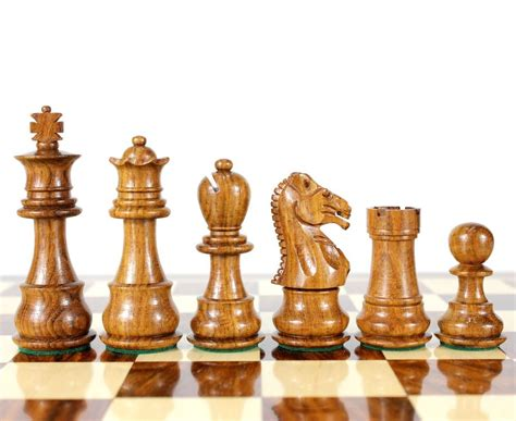chess set golden rose wood galaxy staunton wooden chess set pieces