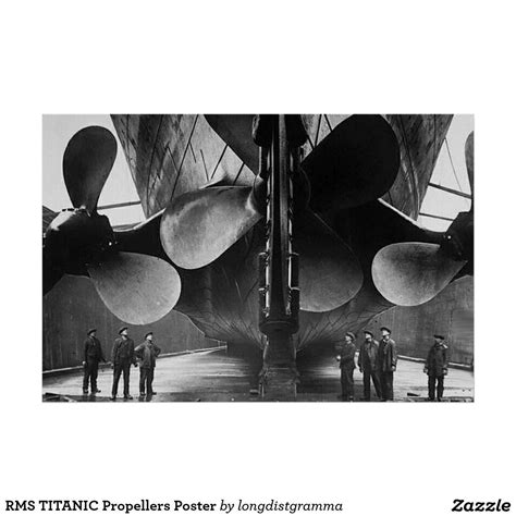 titanic boat poster rms titanic propellers poster zazzle new house