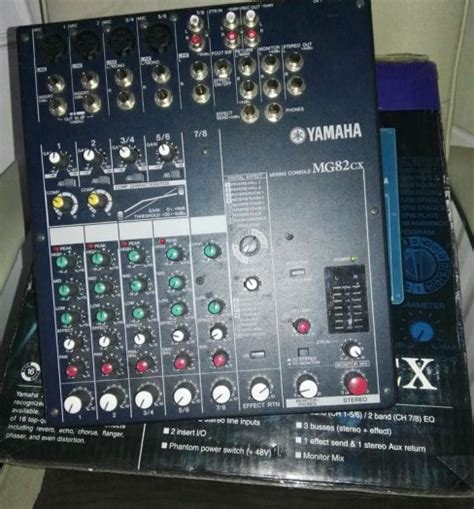 Mixing Console Yamaha Mg82cx yamaha mg82cx mixing console mics for sale in ballina
