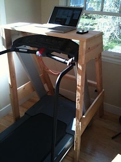 Walking Desk Diy Why Not D I Y Treadmill Desk Improvised