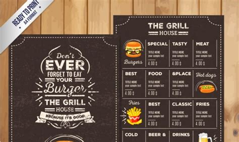 45 menu design projects for creative amp fun restaurants