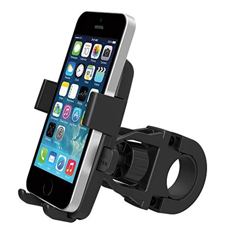msfeng one touch mountain bike cell phone holder handlebar mount for iphone 6 5s 5c 4s samsung