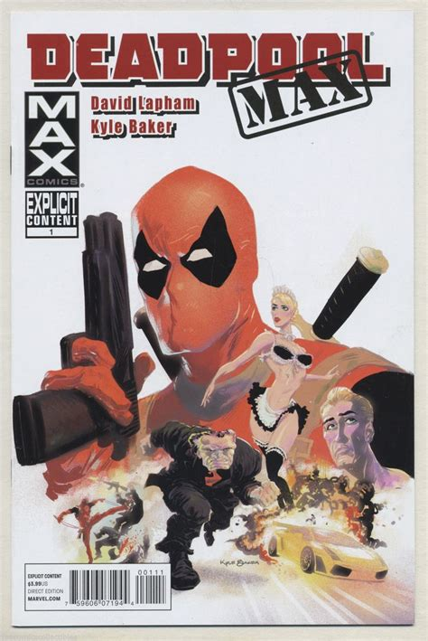 Deadpool Max Second Cut 17 best images about kyle baker on graphic