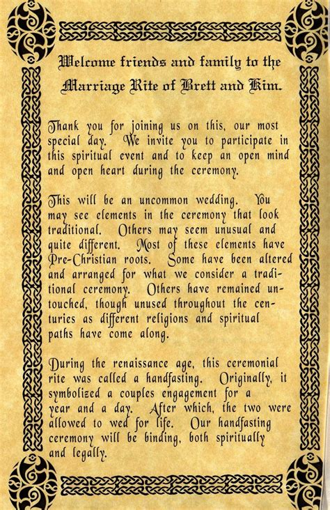 wiccan wedding invitation wording the wiccan a bit me a bit you
