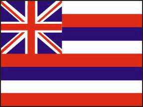 hawaii state colors usa state flags printable state flags