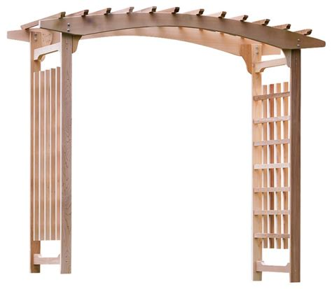 cedar garden wedding arbor traditional pergolas arbors