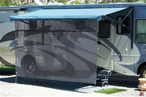 rv sun shades for awnings aleko 174 7 x 16 rv shade net awning shade kit black shade