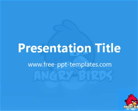 powerpoint themes free download birds angry birds ppt template free powerpoint templates