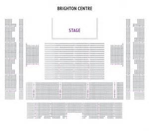 Brighton Centre Floor Plan by The Brighton Centre Theatre People