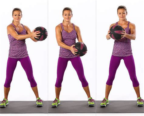 standing ab exercises  weights popsugar fitness