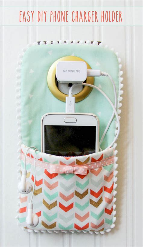 Easy Accessories To Make And Sell by Diy Phone Charger Holder