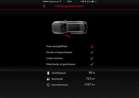 Audi Mmi Connect App by Fernsteuerung F 252 R Das Auto Gr 252 Nderszene
