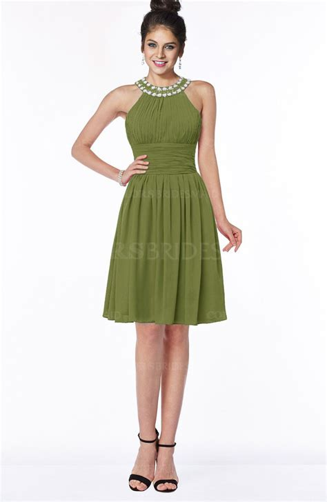 Liana Dress Green colsbm liana olive green bridesmaid dresses colorsbridesmaid