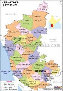 district maps image gallery karnataka district map