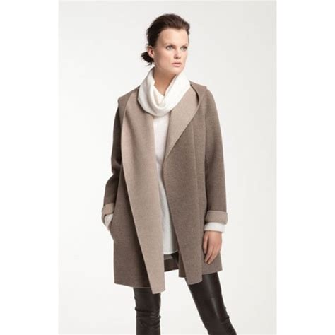 vince drape hooded coat 55 off vince jackets blazers vince drape hooded coat