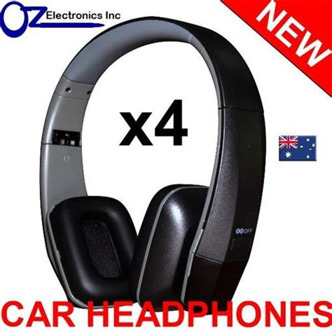 Headset Clarion 4x universal ir infrared headphones compatible with