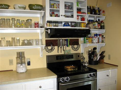 Shelves Instead Of Kitchen Cabinets The Virtuous My Kitchen