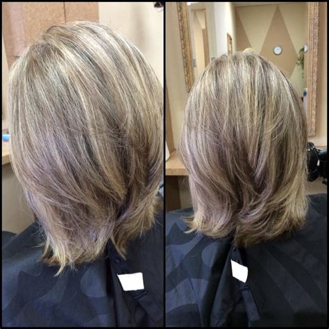 long bob hairstyles with low lights color blonde highlights with low lights haircut long bob