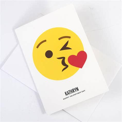 card emoji personalised emoji card by of lemons