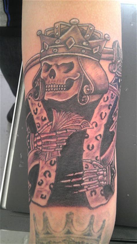 suicide king tattoo king flickr photo