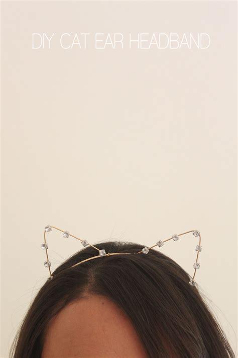 ears headband diy cat ears headband diy do it your self