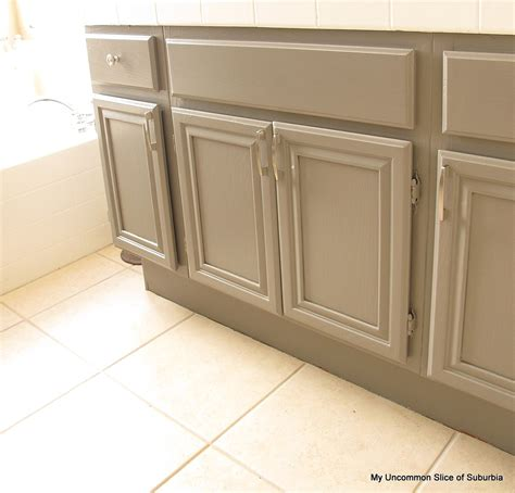 Painted Bathroom Furniture How To Paint Oak Cabinets