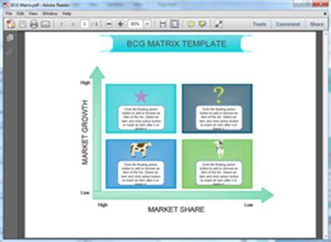 Free Bcg Matrix Templates For Word Powerpoint Pdf Boston Matrix Template