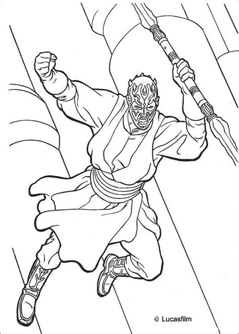 sith coloring pages darth maul coloring pages hellokids