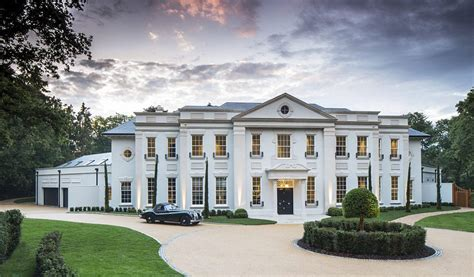 Sofas Scotland Stunning Contemporary Classical Mansion In Surrey