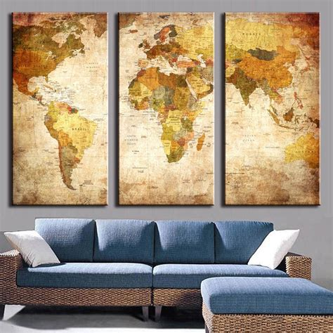 3 Painting Set by 2019 Canvas Wall 3 Sets Wall Ideas