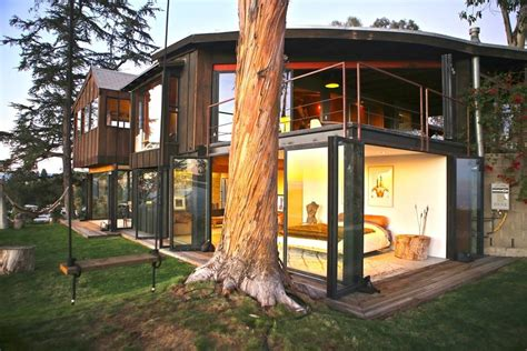 airbnb mansion los angeles tree house with 360 views of l a houses for rent in los