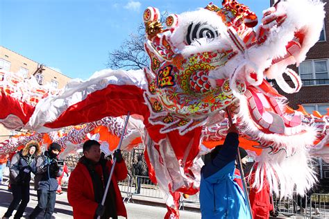 flushing lunar new year parade 2015 photos dreadfully cold but majestic flushing lunar new