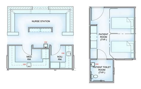 layout design of hospital nursing home patient room layout google search project