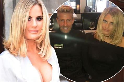 danielle towie haircut danielle armstrong dating multi millionaire ex footballer