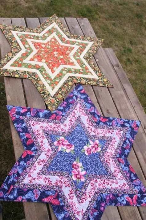 Quilt Centre by Make Your Table A With A Starry Table Centerpiece