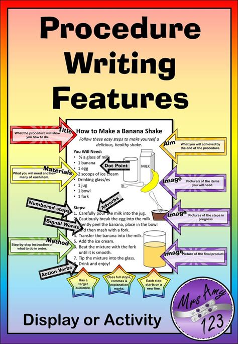 features of a biography ks2 display best 25 procedural writing ideas on pinterest procedure