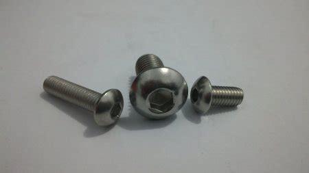 Baut L Button Stainless M8x25 socket button button l ss304 milli eonefastener