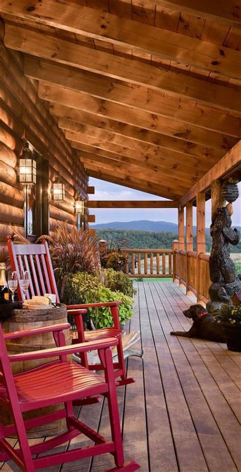 how to decorate a log home best 20 country homes ideas on country homes
