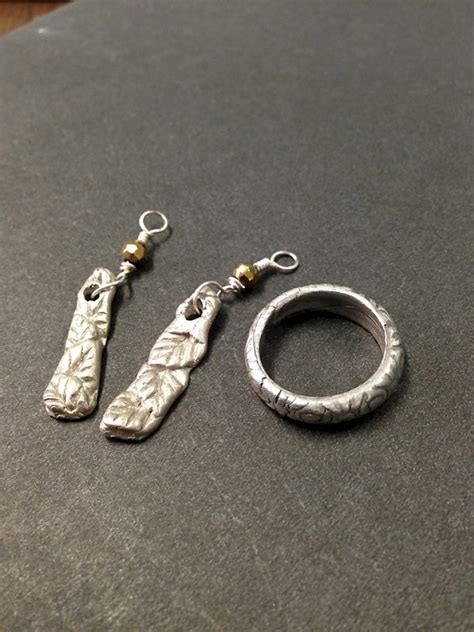 silver clay jewelry clay silver jewelry visual arts katonah center