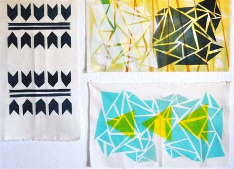 printable fabric tutorial diy patterned tapestry crafts textile printing