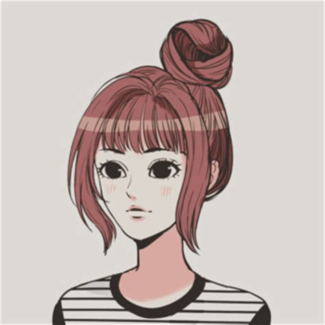 anime bun hairstyles animanga drawings on paigeeworld pictures of animanga