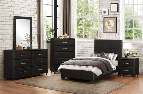 homelegance lorenzi upholstered platform bedroom set