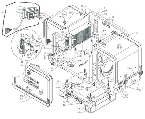 wiring diagram for westerbeke generator diagram
