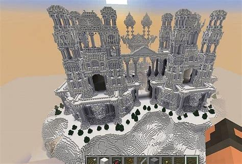quartz castle island minecraft building