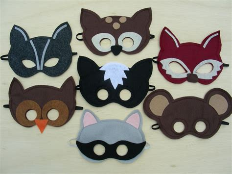 woodland animal mask templates 395 best images about painting boys on